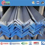 Ferro di angolo dell'acciaio inossidabile della l$signora Hot-rolled in fabbrica