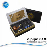 Cigarette électronique brevetée de la pipe 618 d'E