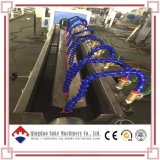 Ligne de production d'extrusion de tuyau flexible de fibre de PVC
