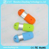 Multicolor пластичный сползая привод вспышки USB формы пилюльки (ZYF1811)