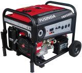 대기 가솔린 연료 휴대용 배터리 전원을 사용하는 발전기 (FB9500E)가 7kw에 의하여 집으로 돌아온다
