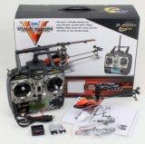 3D Single Blade Mini 2.4G 6CH RC Helicopter Model con Servos y Mems Gyro