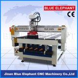 Máquina del torno del CNC de Ele1325p China para la madera que talla el ranurador de poco ruido del CNC