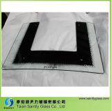 [4مّ] منحنى ومسطّحة بيضاء زجاجيّة غطاء مدى منتج [أولترا] لأنّ [هوم بّلينس] مدى غطاء