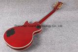 Guitare électrique de vin de rouge de type de luxe de Lp