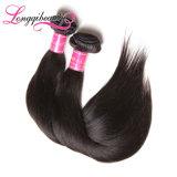 Hochwertige natürliche rohe Jungfrau malaysisches Remy gerades Haar