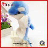 教育おもちゃ手パペット漫画のパペットパペット動物のイルカのパペット