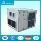 Refrigerado por aire Intercambiadores de calor en la azotea unidad central de aire acondicionado con refrigeración 52kW Capacidad