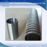Cilindro del filtro a sipario della rete metallica dell'acciaio inossidabile