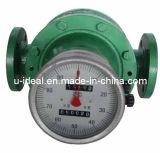 Medidor de fluxo do petróleo, medidor frente e verso do rotor, Dual-Rotor, medidor de fluxo da turbina, medidor da placa de orifício
