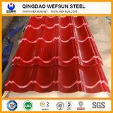 Lamiera di acciaio ondulata galvanizzata /Prepainted di PPGI per tetto