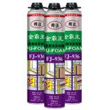 Пена PU прилипателя высокого качества строительного материала химически