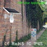 6W 9W 12W het ZonneLicht van de Tuin met Verklaarde FCC/Ce
