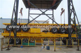 3 Semi Aanhangwagen van het Vervoer van de Container van assen 40FT Flatbed in Geel