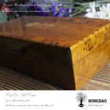 Theezakjes die van het Embleem van de Douane van Hongdao de Natuurlijke Houten de Directe Levering _E inpakken van de Fabriek van de Doos