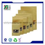 Sacchi di carta di imballaggio per alimenti del Brown Kraft con la finestra