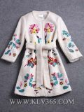 2015 nuovi cappotti delle lane di inverno dei vestiti delle donne
