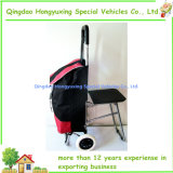 Vielzweckgepäck-Laufkatze-Beutel mit Falz-Stuhl-Sitz