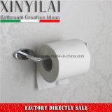 Держатель туалетной бумаги овальной пробки латунный с отделкой крома