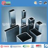 Черная стали углерода сваренная & горячая гальванизированная квадратная труба & прямоугольная труба