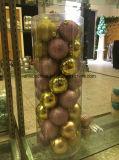 Ornamenti Baubbles della decorazione di natale nelle figure differenti e nel multi colore (fabbrica diretta)