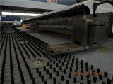Máquina de perfuração da placa do CNC para a chapa de aço do perfurador/imprensa de perfurador hidráulica da torreta para o calefator de água solar