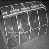 Supermercado Acrylic Candy Box / Acrílico Food Display Bandeja (BTR-K4026)