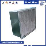 Geflanschter Glasfaser-Filter für Luft-Reinigung