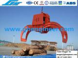 Encavateur hydraulique de bois de construction sur la grue montée par camion ou la grue de chenille