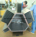 Nichtstandardisierter mechanisches Geräten-Transformator-Furchung-Flosse-Produktionszweig,