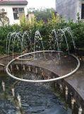 Fuente de agua al aire libre barata de Martblecarving para la decoración (NS-249)