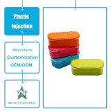 Insieme di plastica personalizzato della casella di pranzo del contenitore di alimento dello stampaggio ad iniezione degli articoli per la tavola di plastica dei prodotti