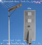 Neues kundenspezifisches 60W alle in einem integrierten Solarstraßenlaterne