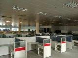 Floresta do Fsc certificada aprovada pela mesa branca linear da estação de trabalho do escritório original moderno da divisória da combinação do GV