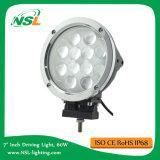 """4X4 7 """" lumière pilotante lourde de la lampe 10V-30vcree DEL DEL de travail de 60W DEL pour l'entraîneur, camions, chariot élévateur, camion de Mifor"""