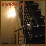 Pasamano montado cara de la escalera del acero inoxidable del diseño simple (SJ-H1321)