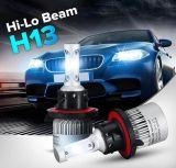 Bridgelux 옥수수 속 칩을%s 가진 도매가 S2 차 헤드라이트 36W 4000lm H4 LED 헤드라이트 6500k