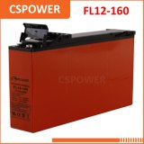 Batteria sottile dell'UPS delle Telecomunicazioni terminali di accesso anteriore del rifornimento 12V160ah della Cina & del gel solare