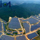 Vidro revestido Tempered do Elevado-Transmissivity para o módulo Photovoltaic