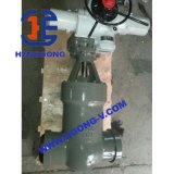 Valvola a saracinesca elettrica saldata ad alta pressione del acciaio al carbonio dell'azionatore di API/DIN