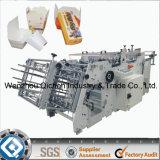 Máquina de papel de la fabricación de cajas Qh-9005