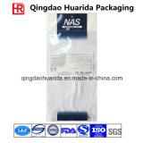 Flache Aluminiumfolie-Kleidungs-verpackenbeutel mit Reißverschluss