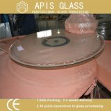 Изготовленный на заказ Tempered защитное стекло для Tabletop мебели