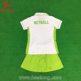 Vestido quente do Netball do OEM do Sublimation da tintura de Healong