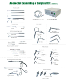2016 neues Anorectal Examining u. Surgical Kits (38PCS)