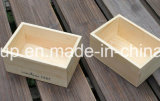 環境のぼろぼろのシックな型の木製のフルーツの木枠