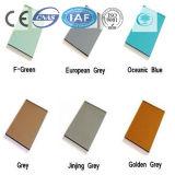 Coloreado/color/vidrio de flotador teñido/claro para el edificio/la decoración
