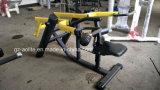 O equipamento comercial do exercício da ginástica assentou o equipamento carregado placa da aptidão da máquina do MERGULHO/Triceps