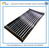 Eficiência elevada 58/1800 de coletor solar de tubulação de calor da câmara de ar de vácuo