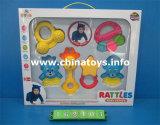 교육 아기 장난감 고정되는 아기 반지 장난감, 아기 가르랑거리는 소리 장난감 (162104)